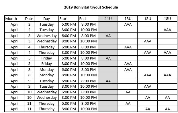 image relating to Printable Tryout Numbers known as Bonivital Tiny Baseball Affiliation - Winnipeg, Manitoba